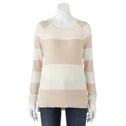 Sonoma Life + Style - Colorblock Raglan Sweater