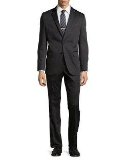 Hugo Boss - Grand Central Gabardine Two-Piece Suit