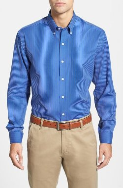 Cutter & Buck  - Vertical Pinstripe Sport Shirt