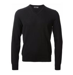 Drumohr - V-Neck Knit Sweater