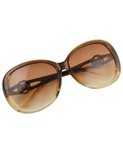 Romwe - Summer Mixed Colors Oversized Sunglasses