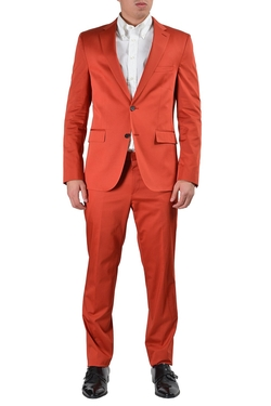 Boss Hugo Boss - Novan2/ben Orange Two Button Suit