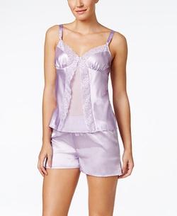 Morgan Taylor - Satin Camisole & Shorts Pajama Set