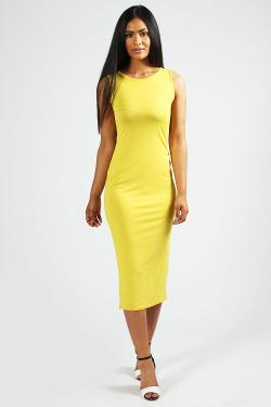 Boohoo - Lindsey Sleeveless Midi Dress