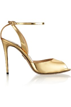 Paul Andrew  - Europeaus Metallic Patent-Leather Pumps