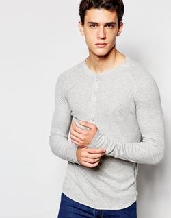 J.lindeberg - Ribbed Henley Shirt