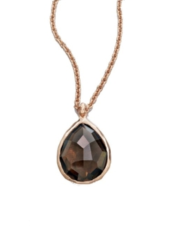 Ippolita  - Rosé Rock Candy Teardrop Pendant Necklace