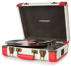 Crosley -  Executive Portable 3-Speed Turntable Phonograph