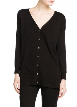Mango - Essential V-Neck Cardigan