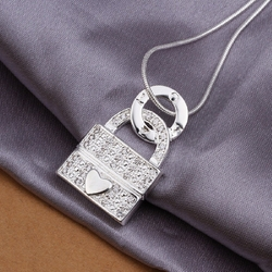 Joylive CY - Lock Necklace Love Heart