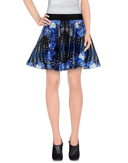 Pinko Black - Floral Print Mini Skirt