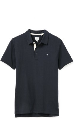 Rag & Bone  - Standard Issue Standard Issue Polo Shirt