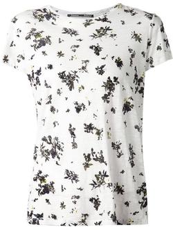 Proenza Schouler - Floral Print T-Shirt