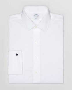 Brooks Brothers - Solid Broadcloth Non–Iron Dress Shirt