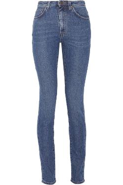 Saint Laurent - High-Rise Skinny Jeans
