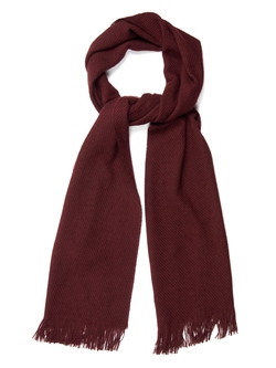 Colombo  - Waffle Knit Cashmere And Silk Blend Scarf