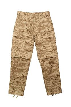 Rothco - Mens Military BDU Desert Digital Pants