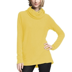 Parisbonbon - Cashmere Cowl Neck Sweater
