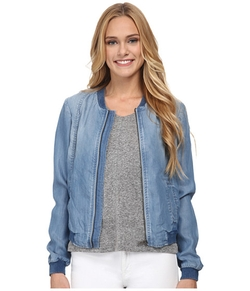 Sam Edelman -  Tencel Bomber Jacket