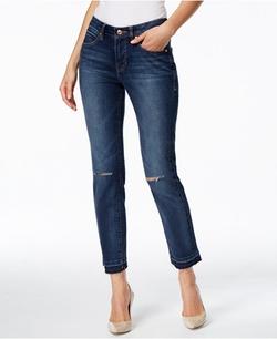Jag - Rochelle Slim-Fit Dark Wash Ankle Jeans