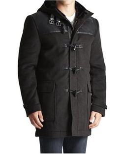 Jack Threads - Paisley & Gray Duffle Coat