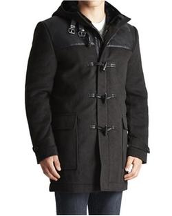 Jack Threads - Paisley & Gray Duffle Coat