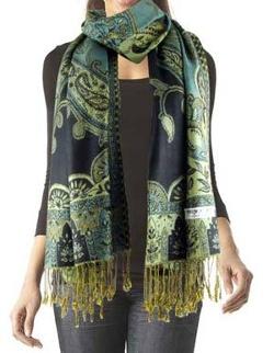 Purse Baby - Apestry Paisley Silk Scarf