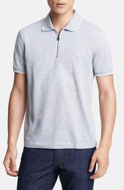 Salvatore Ferragamo - Piqué Trim Fit Polo Shirt