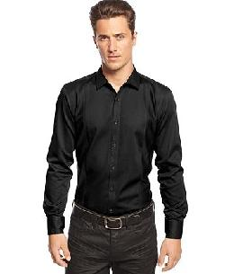 Inc International Concepts - Big & Tall Long Sleeve Mohite Slim Shirt