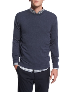 Theory - Vetel Cashmere Long-Sleeve Sweater