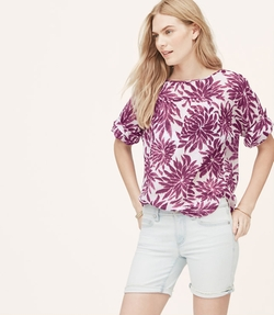 Petite Dahlia - Relaxed Blouse