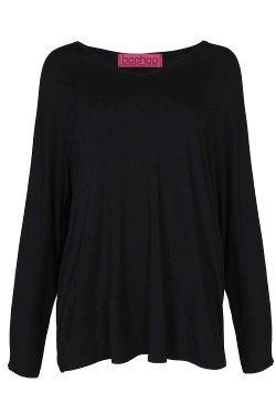 Roxy  - V-Neck Oversized Top
