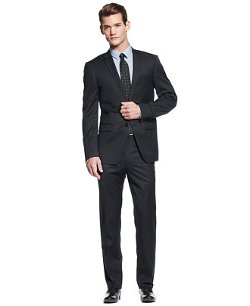 DKNY - Texture Solid Suit