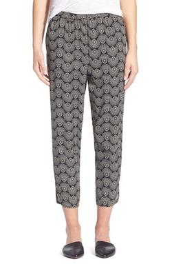 Hinge - Print Crop Pants