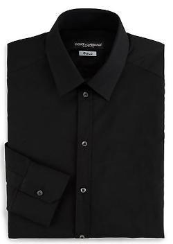 Dolce & Gabbana - Solid Dress Shirt