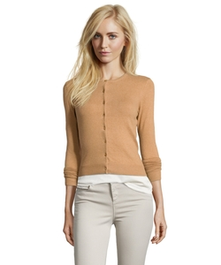 Autumn Cashmere - Pecan Stretch Cotton