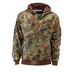 Trail Crest - Camo Full Zip Hooded Sweatshirt