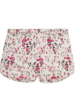 Stella McCartney - Printed Satin Pajama Shorts