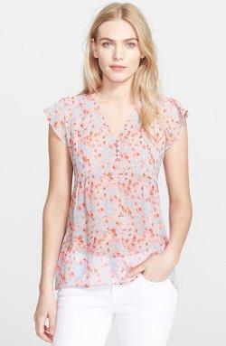 Joie - Macy B Print Silk Top