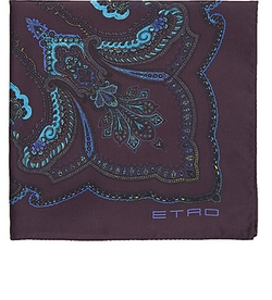 Etro  - Bandana-Print Pocket Square
