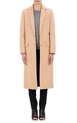 Cedric Charlier - Notch Lapel Long Coat