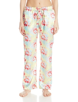 Bottoms Out - Satin Pajama Pants
