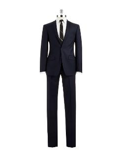 DKNY  - Slim Fit Two-Piece Wool Suit