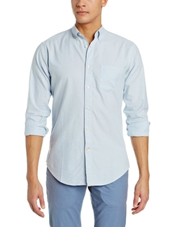 Haggar  - Solid Oxford Long Sleeve Shirt