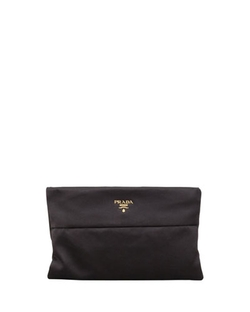 Prada - Raso Satin Clutch Bag