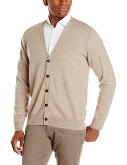 American Icon - Wool Button Cardigan Sweater
