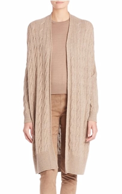 Ralph Lauren Collection  - Cashmere Cabled Cardigan