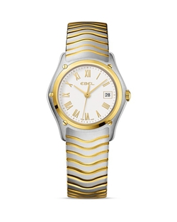Ebel  - Wave Steel & 18K Yellow Gold Watch
