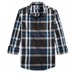 American Rag - Plaid Long-Sleeve Shirt