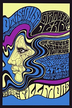 Heritage Posters - Canvas Music Rock And Roll Music Concert Filmore Band Poster